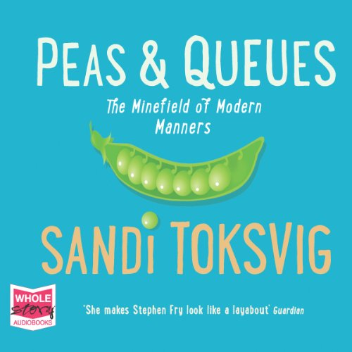 Peas and Queues audiobook cover art