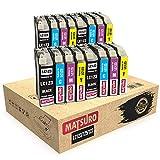 Matsuro Originale   Compatibili Cartucce Sostituire Per BROTHER LC123 LC125 LC127 (4 SETS)