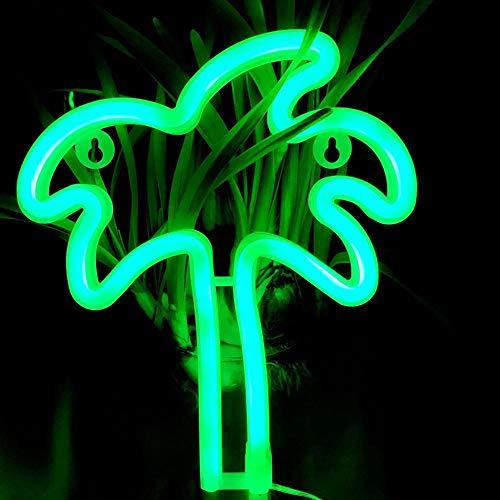 Led Nachtlicht Usb Lade Batterie Box Neon Mond Lampe Form Home Festival Party Weihnachtsdekor Geschenk Spielzeug Schlafzimmer Für Kinder-coconut_tree Büro Lesen Led Leselampe Schreibtischlampe