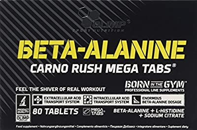 Olimp Beta Alanine Carno Rush (80 Caps) by Olimp Nutrition