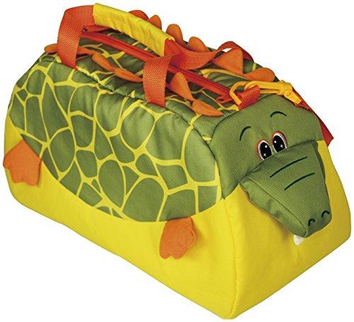 Bieco 04015214 - Kinder Universaltasche Krokodil, ca. 40 x 25 x 20 cm