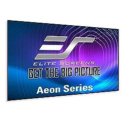 top rated Aeon series elite screen, 120 inch home cinema 16: 9, 8K / 4K Ultra HD, fixed edge edge free … 2021
