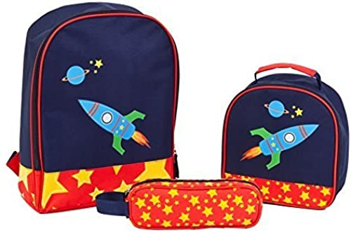 Aquarella Kids Back to School Rocket Set (3-Piece), Blau by Aquarella Kids