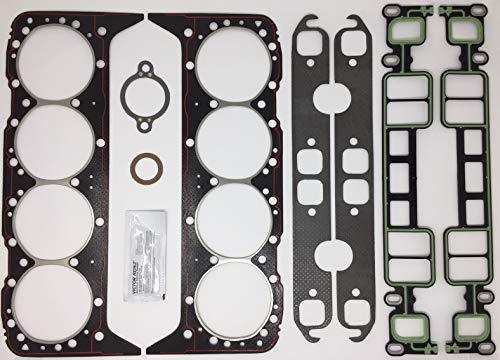 5.7L, 350 CID Mercruiser, Volvo Penta, GM Marine Cylinder Head Gasket Kit. Replaces Mercruiser 27-75611A03