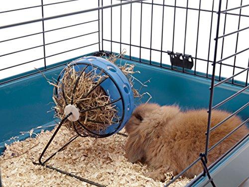 Nobby 25362 Bunny Toy Ø 16 cm, blau-schwarz - 3