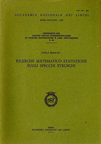 Analisi statistiche multivariate sugli specchi etruschi