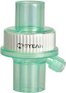 Ventilador de filtro de bacterias desechables, filtro de nariz artificial Máquina de anestesia de respiración