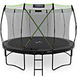 Kinetic Sports Gartentrampolin TUP1200, 366 cm, Black