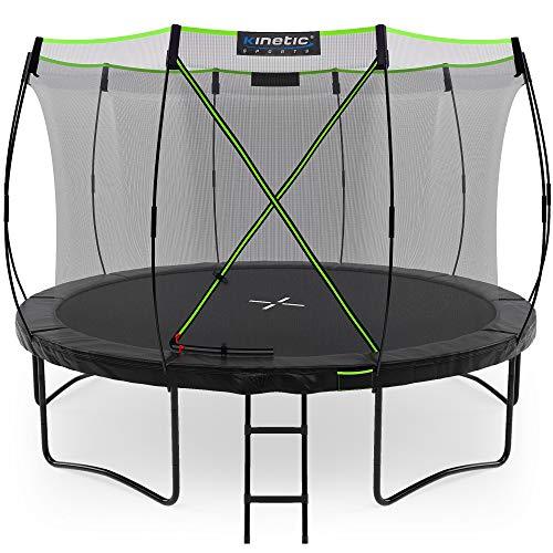 Kinetic Sports Gartentrampolin TUP1200, 366 cm, Black
