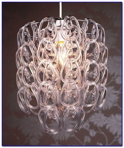 Lighting Web Co Clear Suspension en acrylique avec crochet
