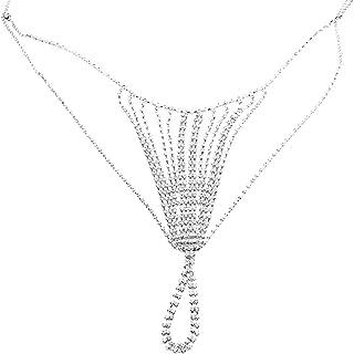 Sexy Body Jewelry Strass Cintura Nappa Intima Anteriore di Caduta della Pancia Jewelry Catena della Vita
