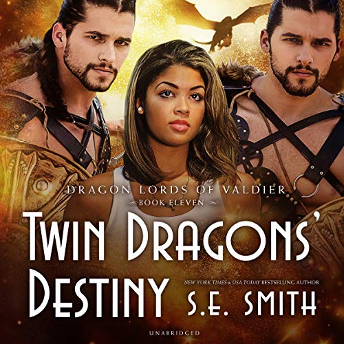 Twin Dragons' Destiny audiobook cover art