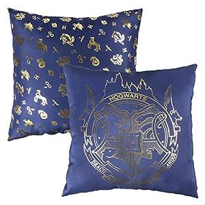 Harry Potter Cojin Premium Hogwarts, Azul, 30x30 cm 15
