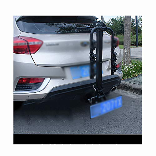 TINGYIN Car bike rack carrying rack spare tire car trailer square mouth,Hang 4