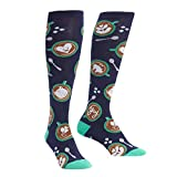 Sock It To Me Barista ARTISA Socken kommen in die Knie, Funky, Sockenkunst zum Damen Eine Größe passt meistens Marine