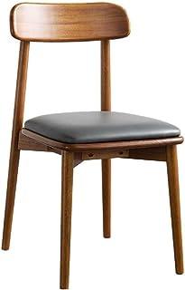 KEDUODUO Luz de élite del Macizo Mesa de Comedor Silla de combinación Post Modern Simple Rectangular pequeña Familia Mesa de Comedor Mesa de Hogares,1 Chair