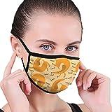 Just Relax Shop - Máscara facial para perro salchicha, lavable y reutilizable, antipolvo