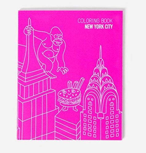 OMY Carnet à colorier sur New york