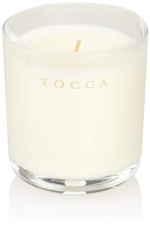列挙する磁器どう?TOCCA(トッカ) ボヤージュ キャンデリーナ ボラボラ 85g (ろうそく 芳香 バニラとジャスミンの甘く柔らかな香り)