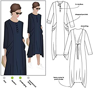 Style Arc Sewing Pattern - Winsome Dress (Sizes 04-16) - Click for Other Sizes Available