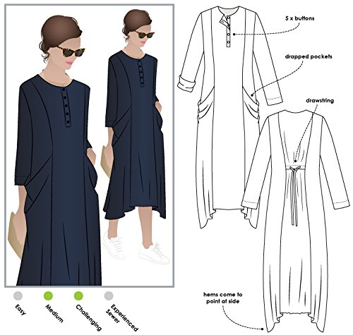 Style Arc Sewing Pattern - Winsome Dress (Sizes 18-30) - Click for Other Sizes Available