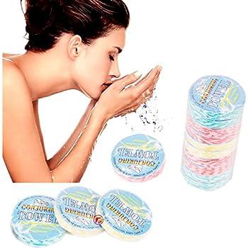 portatile in tessuto non tessuto Eco asciugamano Outdoor viaggio Tookie 10PCS non usa e getta compressa asciugamani