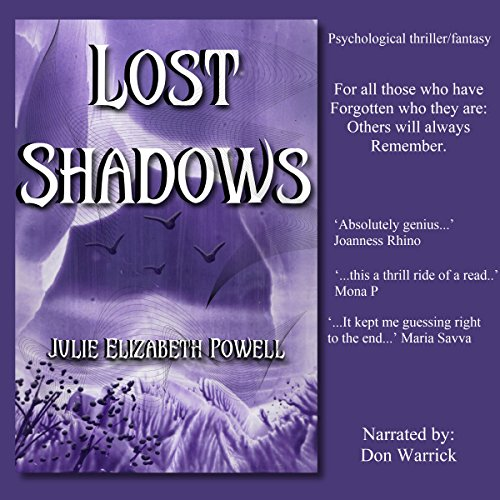 Lost Shadows audiobook cover art