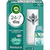 Air Wick Freshmatic - Aparato y recambio de Ambientador Spray Automático, Esencia para Casa con Aroma a Nenuco - 1 aparato + 1 recambio