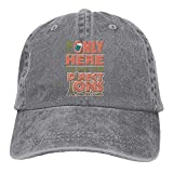 gymini Fun Tourist Vacation Statement Novedad Sombreros Algodón Lavable Gorras de béisbol Ajustable para Hombre Mujer