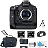 Canon EOS 1DX Mark II DSLR Camera (International Model) Kit with 2X Sony 64GB-2.0 G Series Memory Cards + More