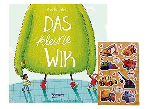 Carlsen Verlag Das kleine WIR (Hardcover) + 1 Kindersticker Bogen - humorvolles, lehrreiches Bilderbuch ab 4