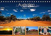 Outback Life - Australien (Tischkalender 2022 DIN A5 quer): Outback Impressionen (Monatskalender, 14 Seiten )
