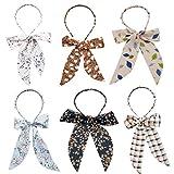 Aniwon 6 Stück Frauen Heaband Süß Perle Band Haarbügel Haarband Haarschmuck für Mädchen