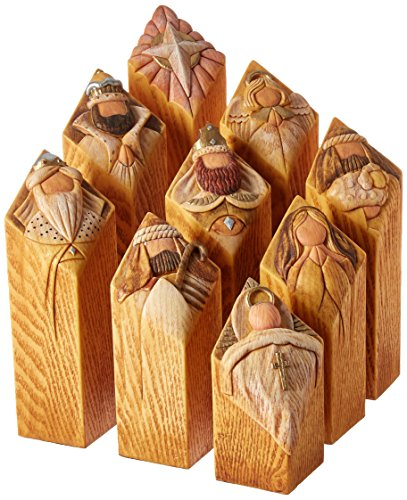 Enesco Pillars of Heaven Nativity Set