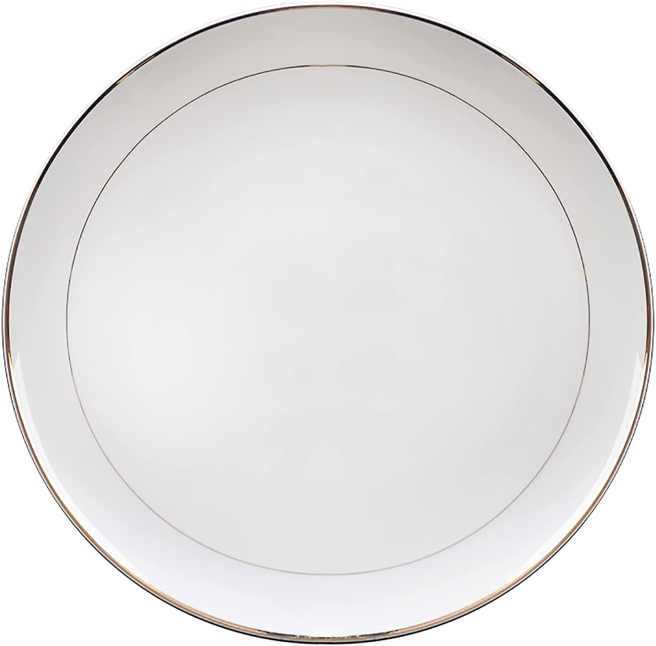 security ZCZZ Ceramic Dinner Plate 4 Piece 10 Reservation Set Cutlery-Microwave Inch