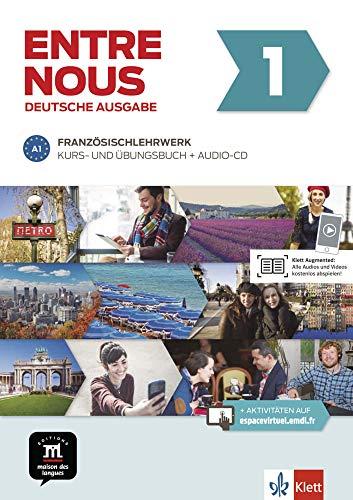 Entre nous A1: Kurs- und Übungsbuch + Audio-CD, deutsche Ausgabe