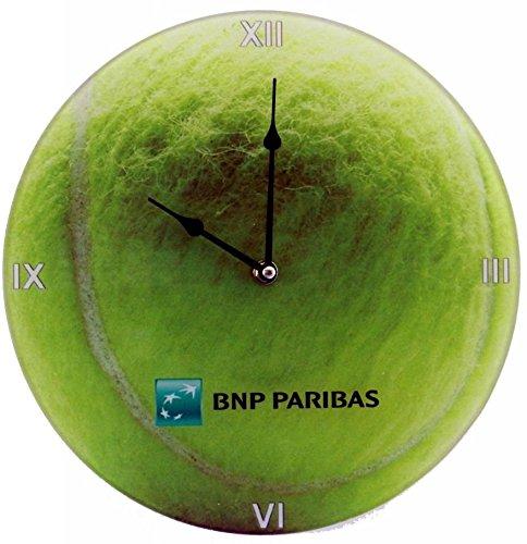 New Space - Orologio in Vetro Tennis D.30 Cm
