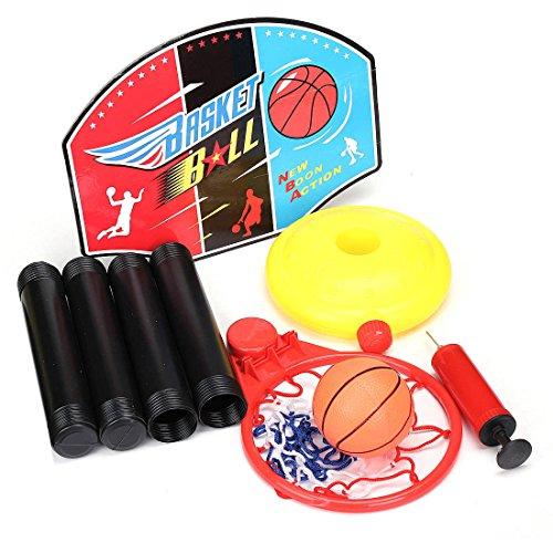 Generic Ukyc150623–004 < 1 & 3800 * 1 > Iy Cadeau Gonflable Gonflable Boule Enfants Jouet bébé Sports Kit de Basket-Ball Net Hoop Training DIY Cadeau Enfants Jouet BA
