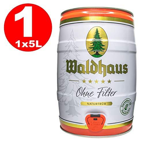 Waldhaus ohne Filter naturtrüb 5l Fass / Dose