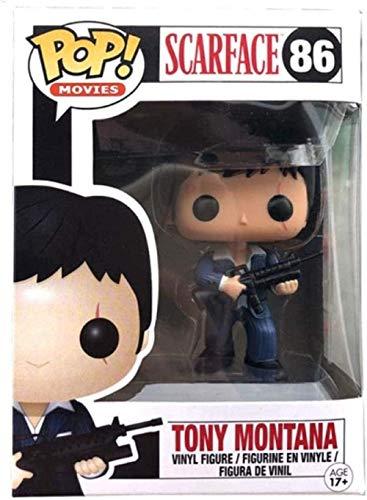 A-Generic Pop Scarfac Tony Montana # 86 Vinyl Actionfiguren Sammlermodell Spielzeug für Kinder Geschenk