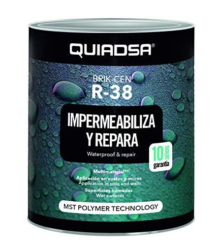 Quiadsa 52503464 Membrana Aislante, Blanco, 5 kg