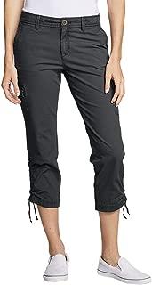 Women's Adventurer Stretch Ripstop Crop Cargo Pants - Slightly Curvy