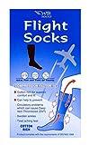 WB Socks Cotton Anti-Dvt Flight Socks Sand Uk Shoe Size 9-12