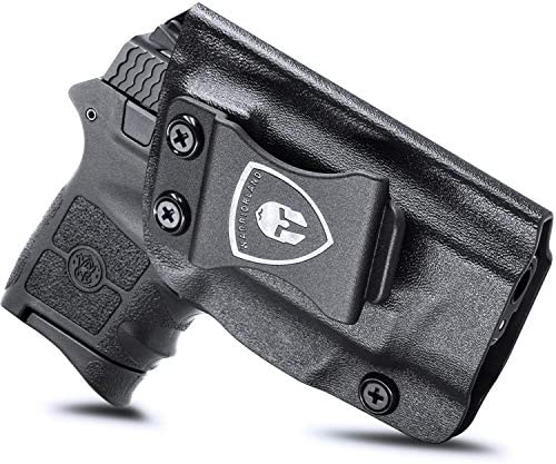 IWB KYDEX Holster Fit S W M P Bodyguard 380 Bodyguard 380 Auto Integrated Laser Pistol Inside product image