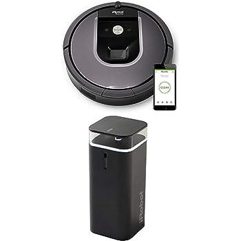 Amazon De Irobot Roomba 960 Saugroboter App Steuerung Hohe Reinigungsleistung Keine Verhedderungen Und Mit Dirt Detect Wlan Fahig Silber Dual Mode Virtual Wall 2 Modi Fur Roomba Begrenzung Schwarz