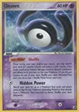 Unown H - Unseen Forces - H [Toy]