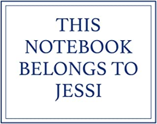 This Notebook Belongs to Jessi