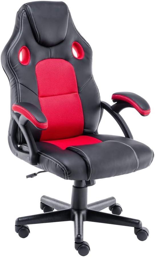 10731 opinioni per play haha. Sedia da Ufficio Girevole, in Stile Racing, Girevole, ergonomica, con