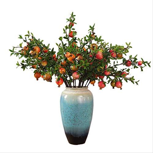 whc0815 Flor Falsa Decoracion Realista del Arte de la Planta Adecuado para Cualquier ocasion Arreglo Floral de Ebay Longitud Total 94cmSimulacion de la Longitud Total de la Granada Grande 94cm