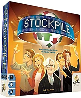 Nauvoo Games LLC Stockpile BOARD Game